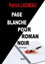 Couverture page blanche